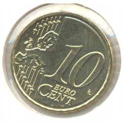 CHYPRE 2011 10 CENTIMES SUP-
