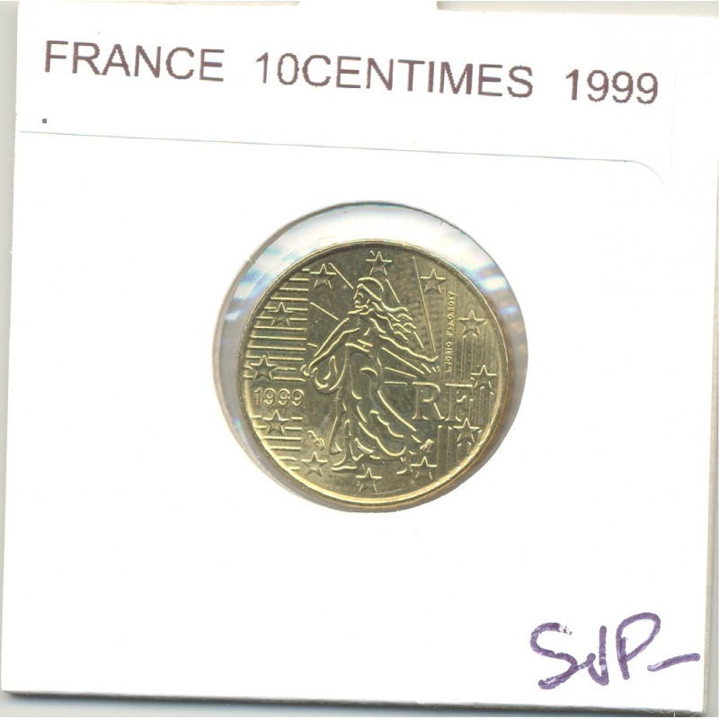 FRANCE 1999 10 CENTIMES SUP-