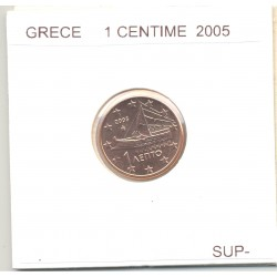 GRECE 2005 1 CENTIME SUP-