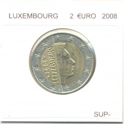 Luxembourg 2008 2 EURO  SUP-