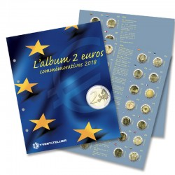 RECHARGE 2 EURO COMMEMORATIVES 2018 (Yvert)