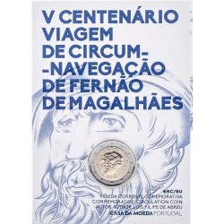 PORTUGAL 2019 2 EURO COMMEMORATIVE FERNAO DE MAGALHAES BU