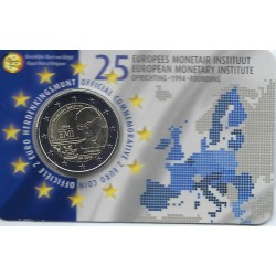 BELGIQUE 2019 2 EURO COMMEMORATIVE E.M.I COINCARD VERSION FLAMAND