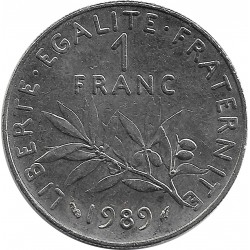 FRANCE 1 FRANC ROTY 1989 SUP