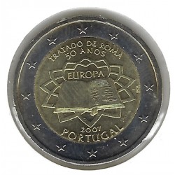 PORTUGAL 2007 2 EURO TRAITE DE ROME SUP