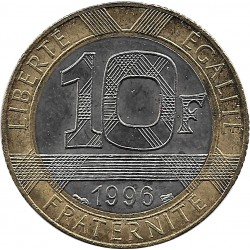 FRANCE 10 FRANCS GENIE 1996 SUP/NC