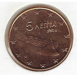 GRECE 5 CENTIMES 2009 SUP