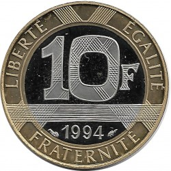 FRANCE 10 FRANCS GENIE 1994 BE