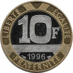 FRANCE 10 FRANCS GENIE 1996 BE