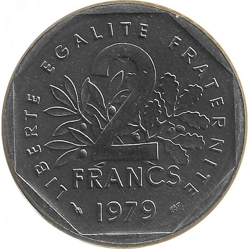FRANCE 2 FRANCS ROTY 1979 FDC