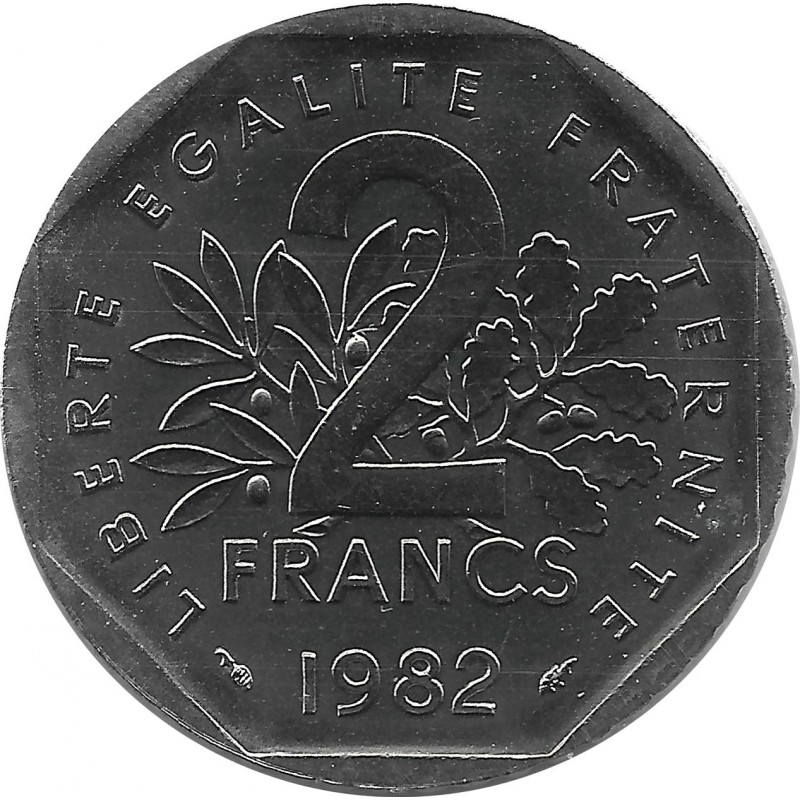 FRANCE 2 FRANCS ROTY 1982 FDC