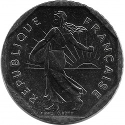 FRANCE 2 FRANCS ROTY 1989 SUP