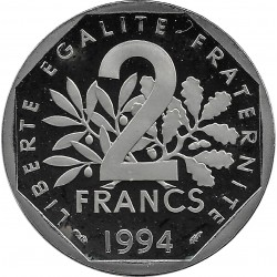 FRANCE 2 FRANCS ROTY 1994 Dauphin BE
