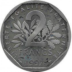FRANCE 2 FRANCS ROTY 1997 BE