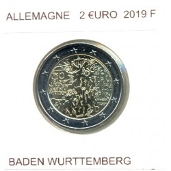 ALLEMAGNE 2019 F  2 EURO COMMEMORATIVE BADEN WURTTEMBERG SUP
