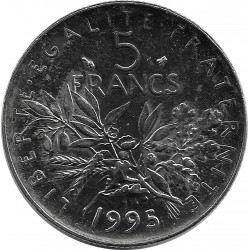 FRANCE 5 FRANCS ROTY 1995 SUP