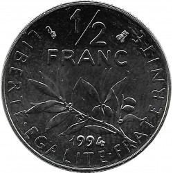 FRANCE 1/2 FRANC ROTY 1994 abeille SUP/NC