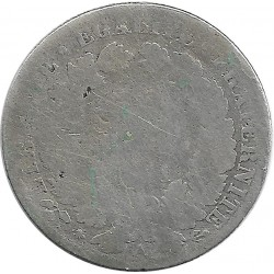 FRANCE 50 CENTIMES CERES 1871 A B-