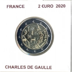 FRANCE 2020 2 EURO Commemorative CHARLES DE GAULLE SUP