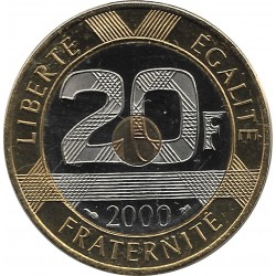 FRANCE 20 FRANCS MONT ST MICHEL 2000 BU