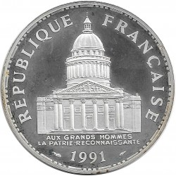 FRANCE 100 FRANCS PANTHEON 1991 BE