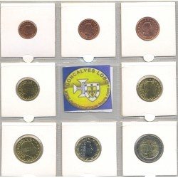 LUXEMBOURG 2012 SERIE 7 MONNAIES et 2 EURO GRAND DUC SUP-