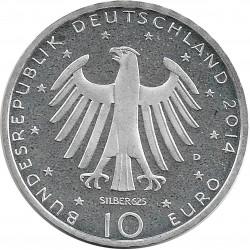 Allemagne 2014 D 10 EURO SUP/NC