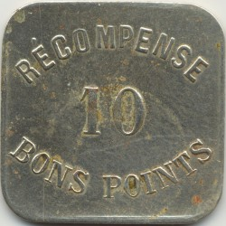 75 SEINE - PARIS 10 BON POINT RECOMPENSE TTB