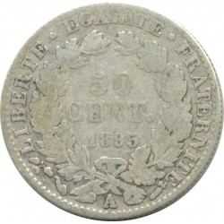 FRANCE 50 CENTIMES CERES 1895 A (Paris) TB