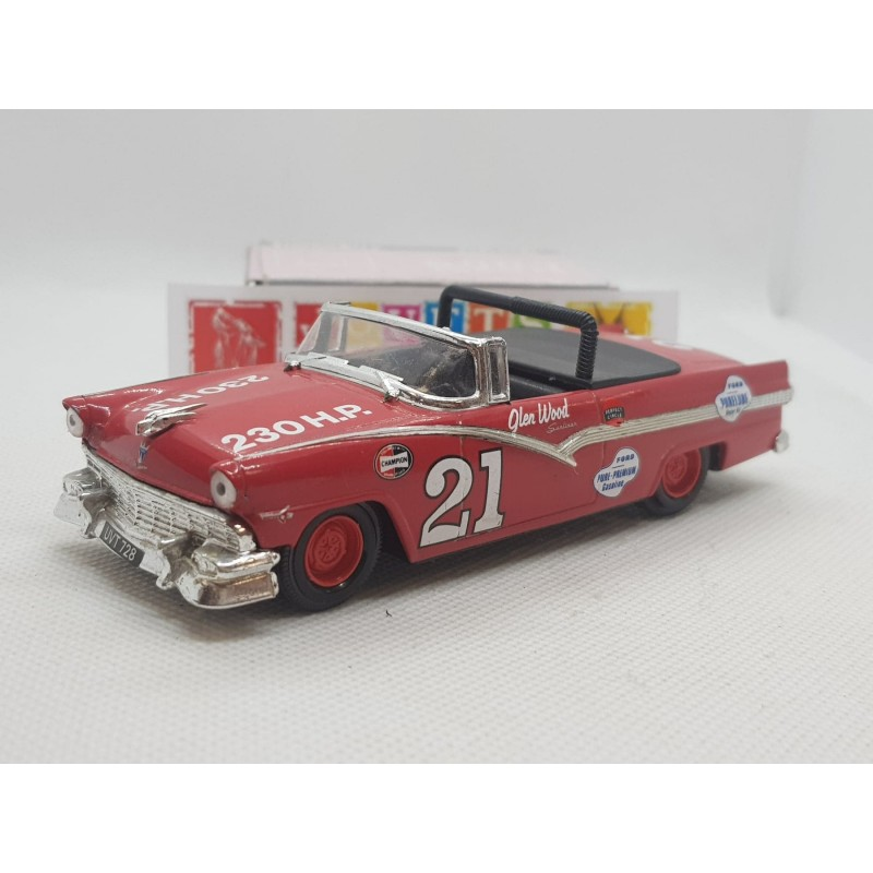 FORD FAIRLANE 1956 NASCAR NUMERO 21 GLEN WOOD 1/43 BOITE