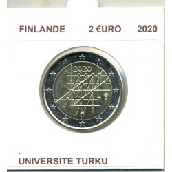 FINLANDE 2020 2 EURO COMMEMORATIVE UNIVERSITE DE TURKU SUP