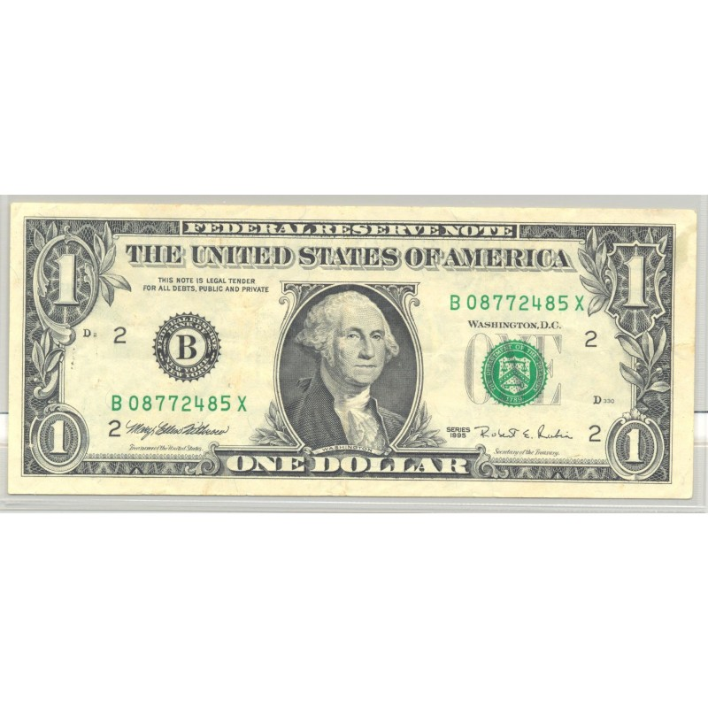 U.S.A. (New York) 1 DOLLAR 1995 SERIE B TTB