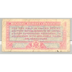 U.S.A. 5 CENTS MILITARY PAYMENT CERTIFICATE SERIE 471 47 TB+
