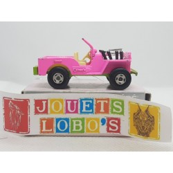 JEEP HOT ROD MATCHBOX SUPERFAST 1971 ROSE