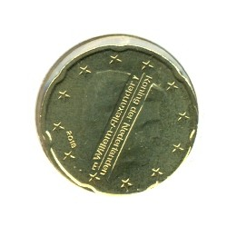 HOLLANDE ( PAYS-BAS) 2018 20 CENTIMES SUP