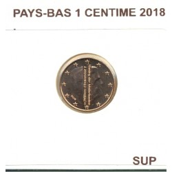 HOLLANDE ( PAYS-BAS) 2018 1 CENTIME SUP
