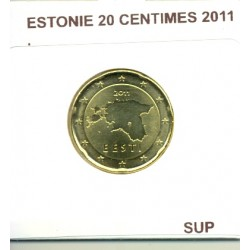 ESTONIE 2011 20 CENTIMES  SUP