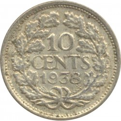 HOLLANDE 10 CENTS 1938 TTB N2