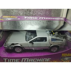 DMC DELOREAN RETOUR VERS LE FUTUR (BACK TO THE FUTURE) WELLY 1/24 BOITE NEUVE