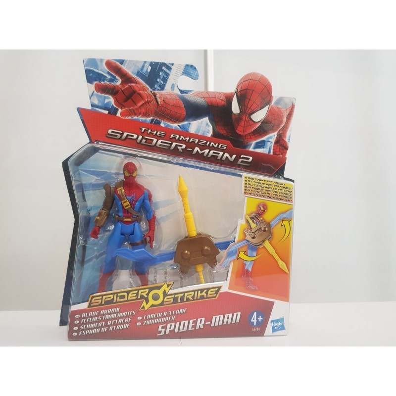 FIGURINE SPIDER-MAN FLECHES TRANCHANTES THE AMAZING SPIDER-MAN 2 de chez HASBRO