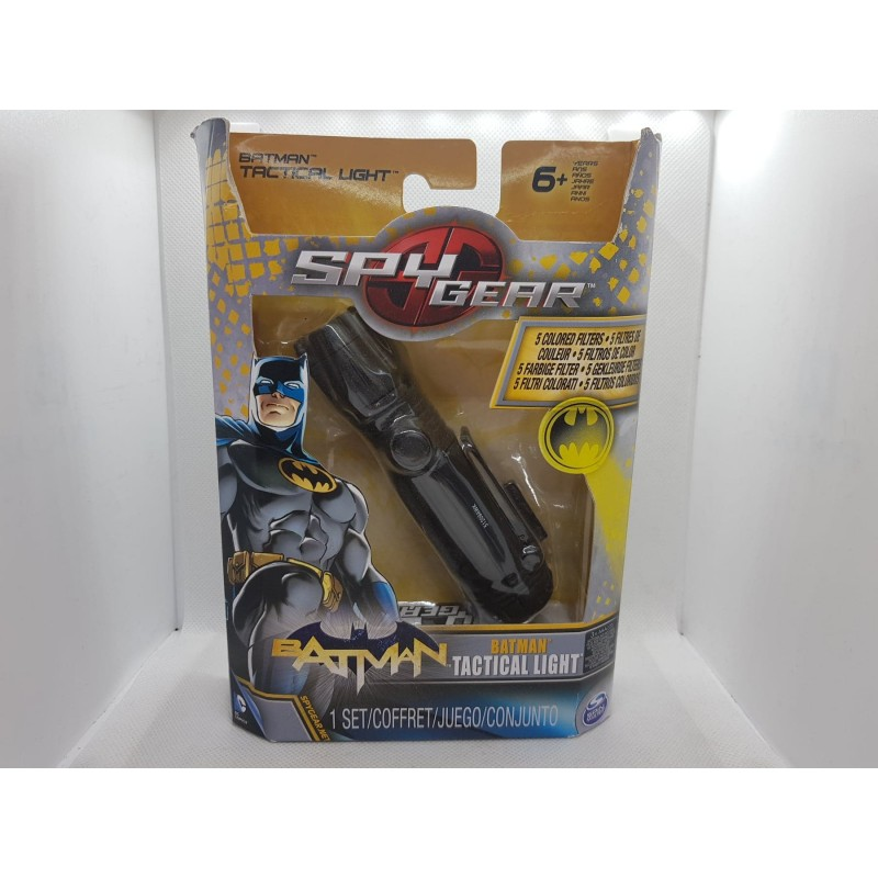 BATMAN TACTICAL LIGHT LAMPE TORCHE de chez SPIN MASTER