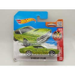HOTWHEELS HW FLAMES 2016 10/10 '69 MERCURY CYCLONE