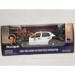 FORD CROWN VICTORIA 2008 POLICE INTERCEPTOR THE ROOKIE GREENLIGHT 1/24 BOITE NEUVE